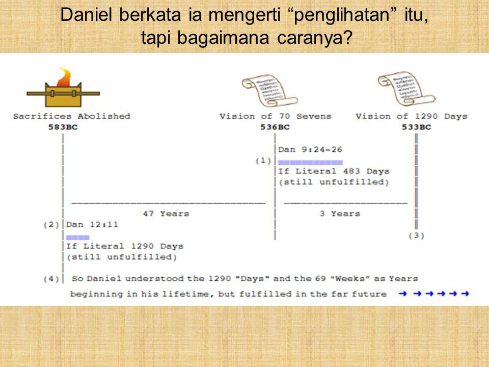 """Daniel berkata ia mengerti """"penglihatan"""" itu, tapi bagaimana caranya?"""