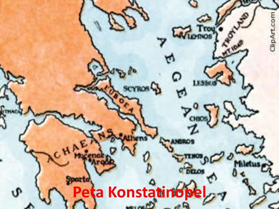 Peta Konstatinopel
