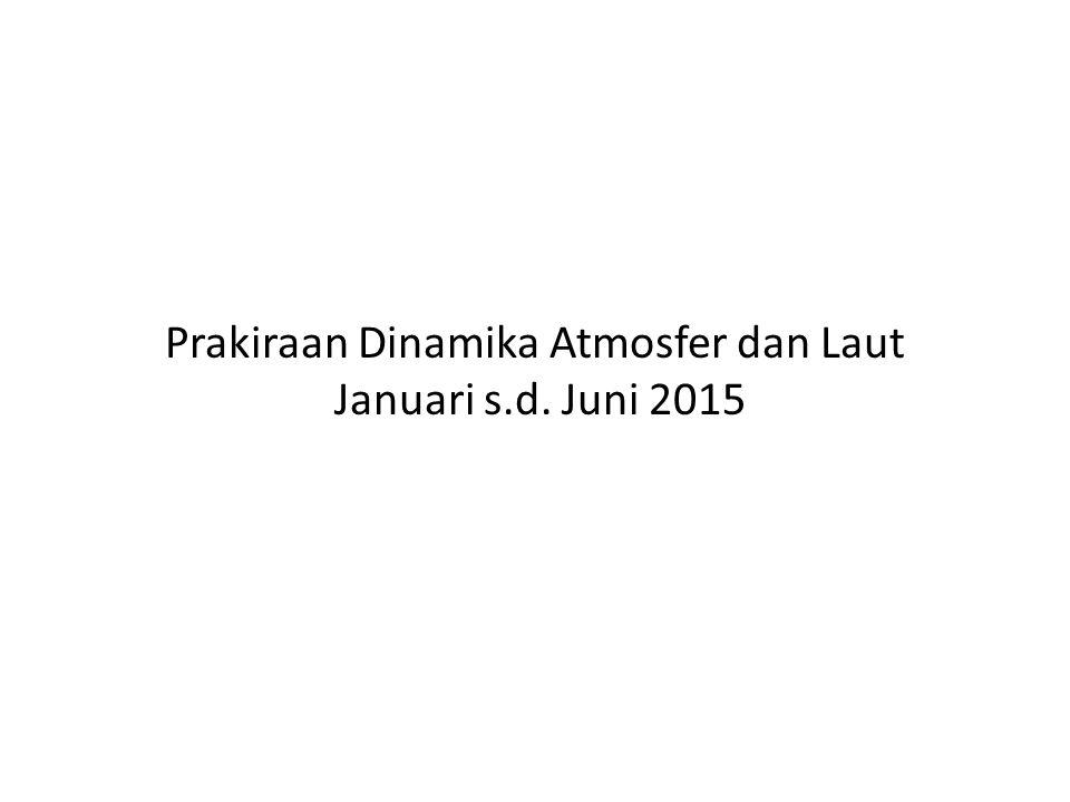 Prakiraan Dinamika Atmosfer dan Laut Januari s.d. Juni 2015