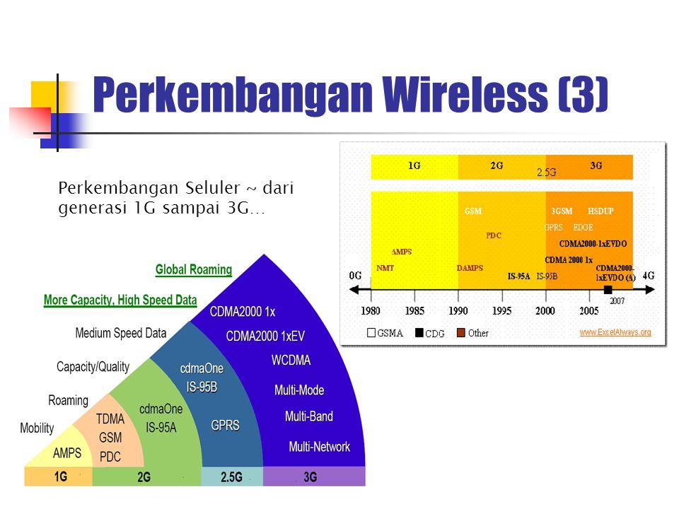 Perbandingan Wireline dengan Wireless Wireline & Wireless