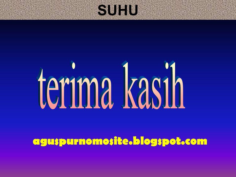 aguspurnomosite.blogspot.com SUHU