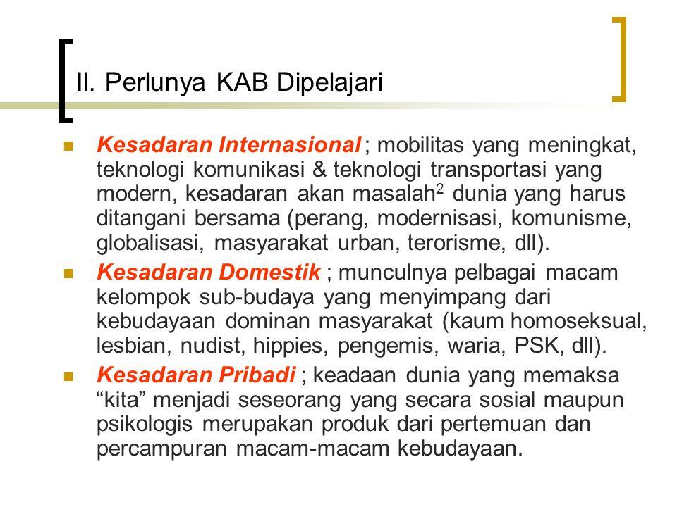 V.Istilah 2 yang berkaitan dgn KAB 5.