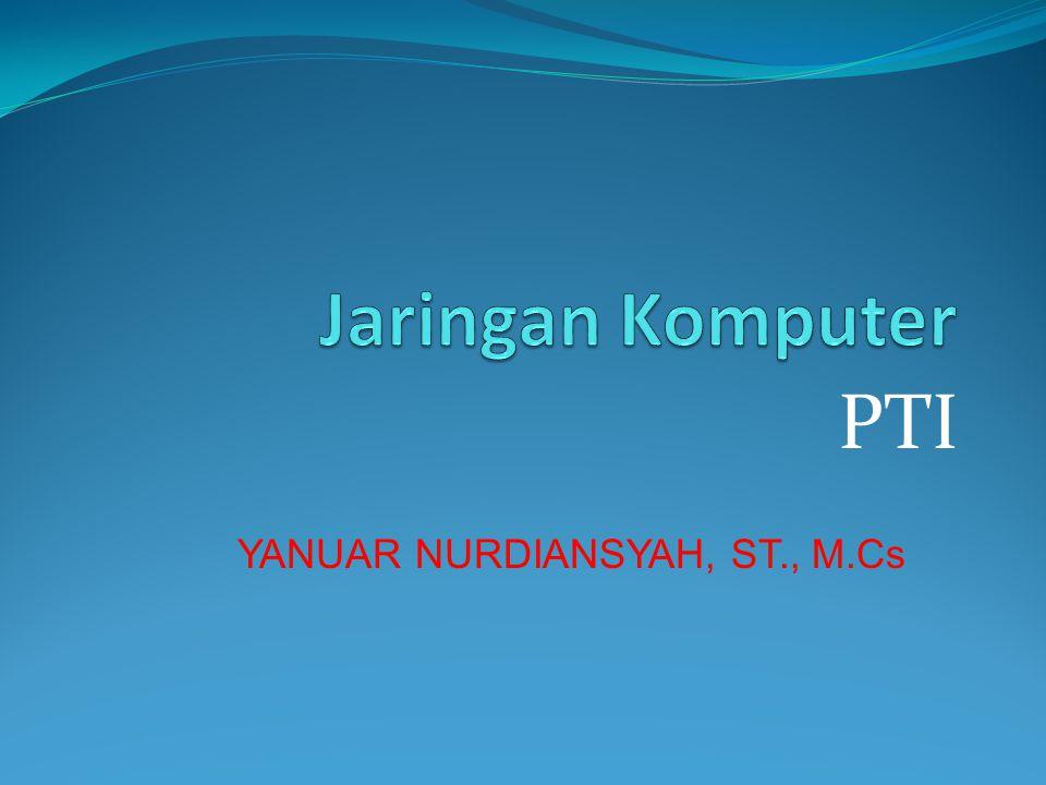 PTI YANUAR NURDIANSYAH, ST., M.Cs