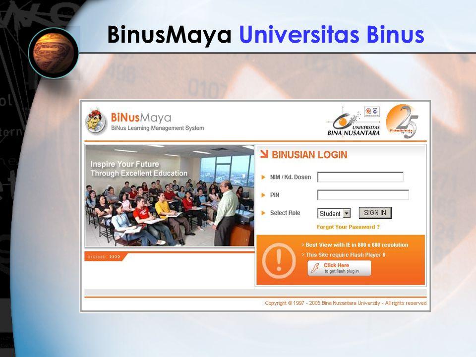 BinusMaya Universitas Binus