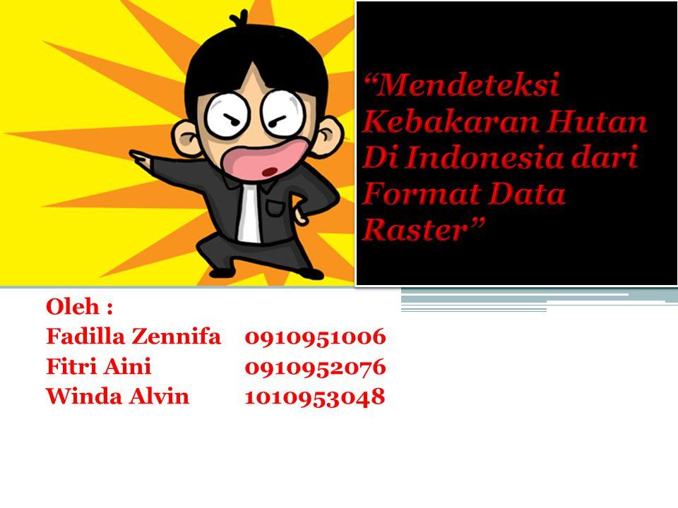 Oleh : Fadilla Zennifa 0910951006 Fitri Aini 0910952076 Winda Alvin 1010953048