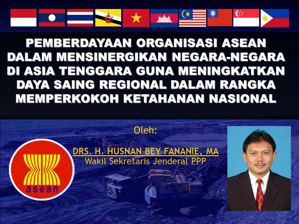 STRATEGI 1.Stabilisasi aspek-aspek perekonomian negara- negara anggota ASEAN.