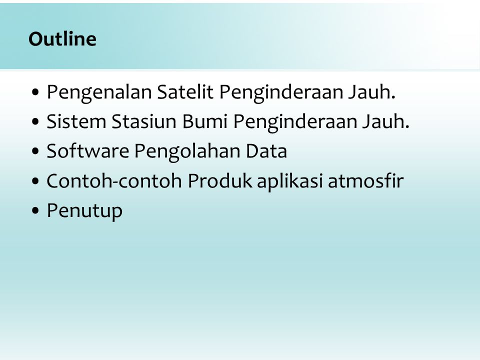 Software pengolahan data VIIRS NPP (CSPP)