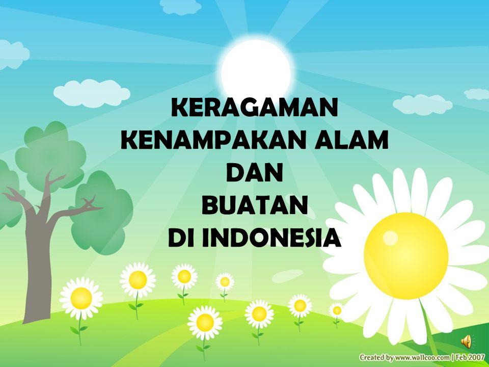 KERAGAMAN KENAMPAKAN ALAM DAN BUATAN DI INDONESIA