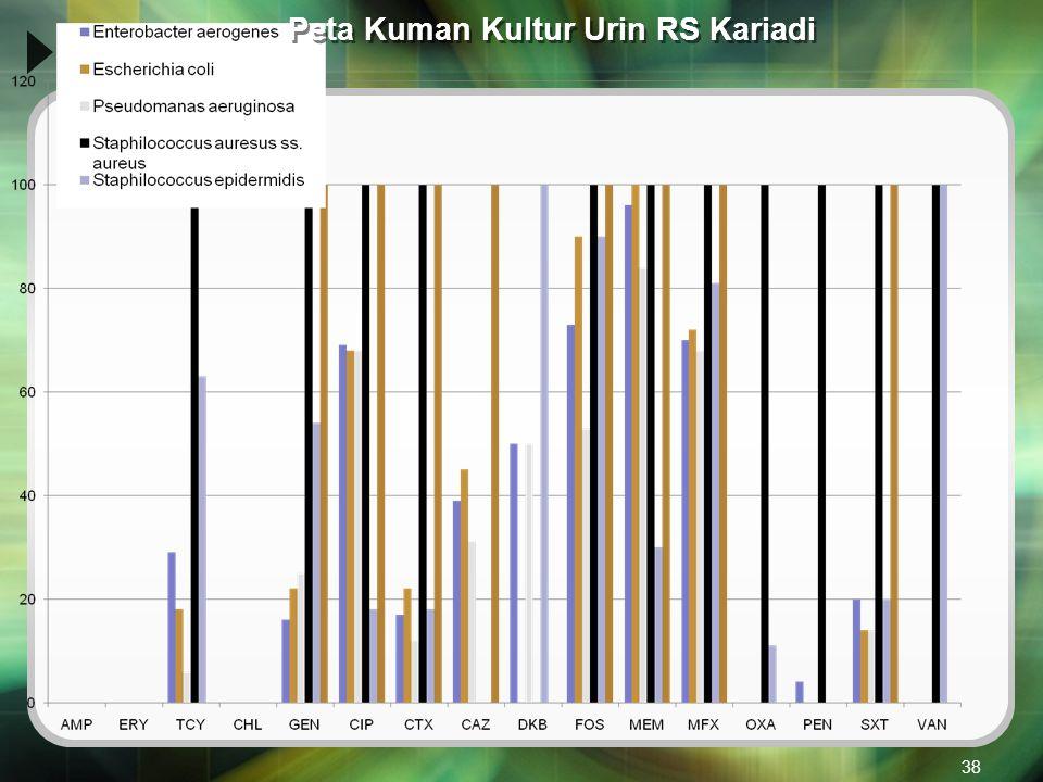 Peta Kuman Kultur Urin RS Kariadi 38