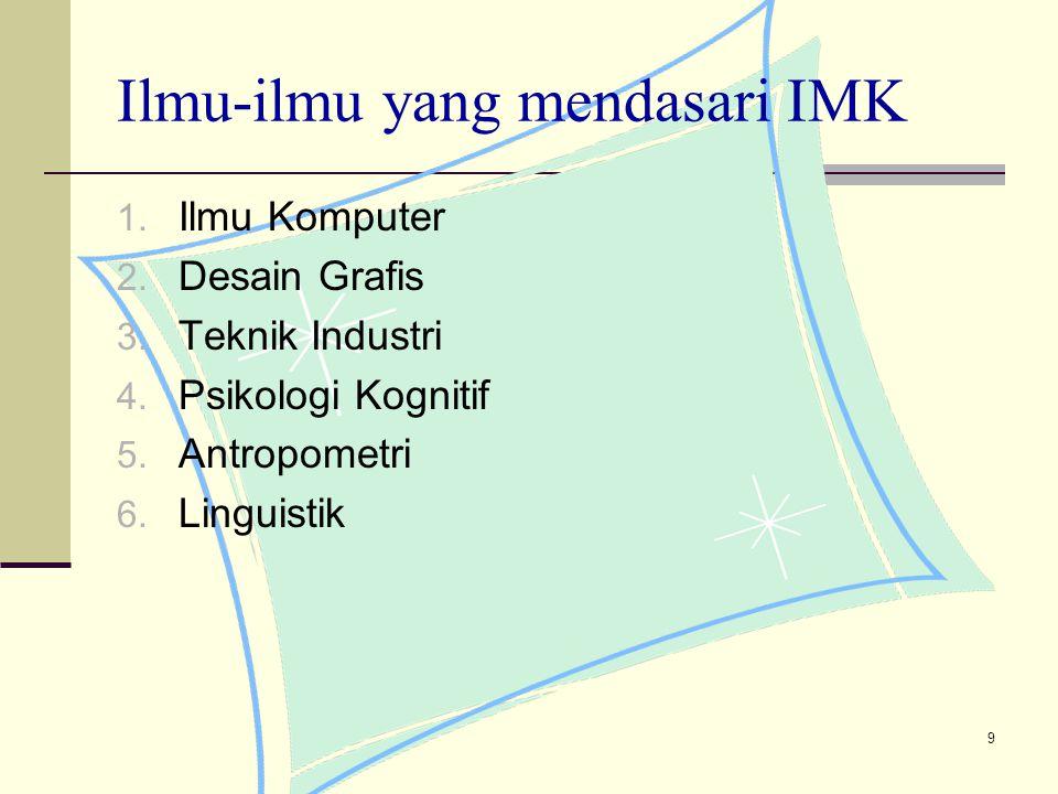 10 Komponen IMK 1.