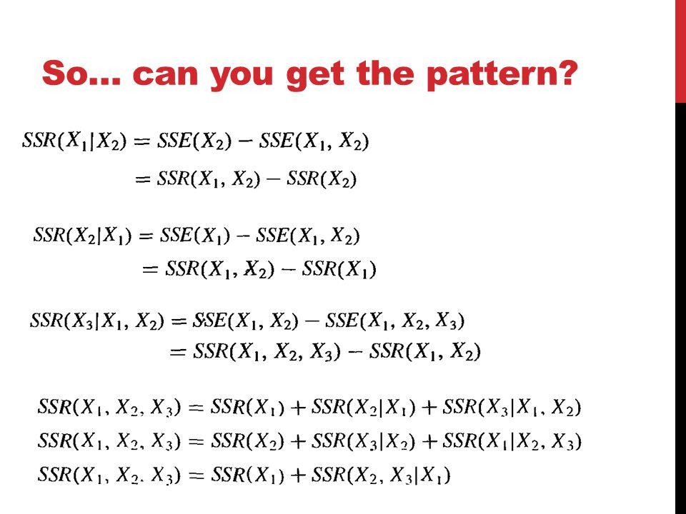 So… can you get the pattern?