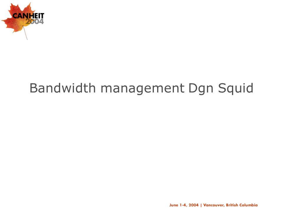 Proxy Bandwidthmanagement Parameter  delay_pools –menyatakan berapa banyak bagian/pool yang akan dibuat.