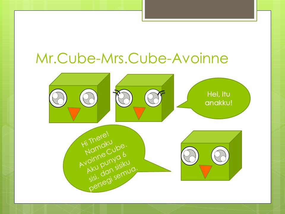 Mr.Cube-Mrs.Cube-Avoinne Hi There.Namaku Avoinne Cube.