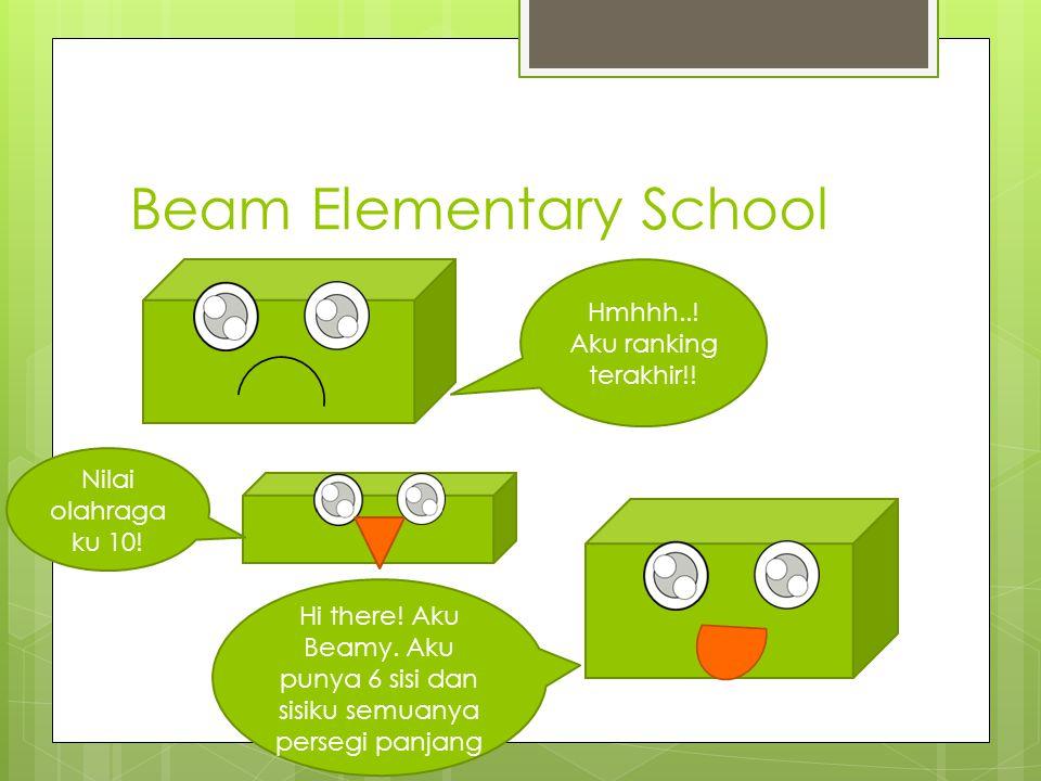 Beam Elementary School Hmhhh...Aku ranking terakhir!.