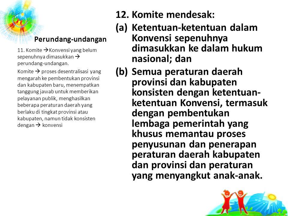 Perundang-undangan 12.