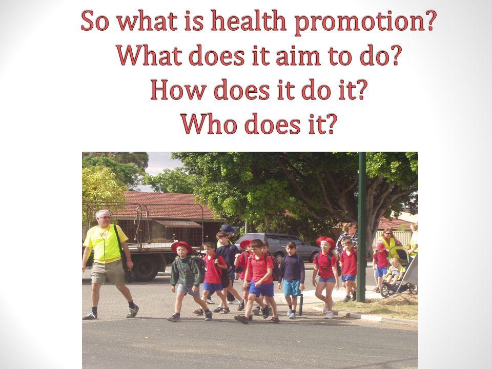 Ottawa Charter for Health Promotion Developing personal skill Biasanya aktivitas promosi kesehatan lebih banyak fokus kepada aktivitas penyuluhan kesehatan (KIE)  peningkatan pengetahuan Selain pengetahuan juga diperlukan sikap yang positif dan latihan keterampilan Key: educate for health enhance life skills