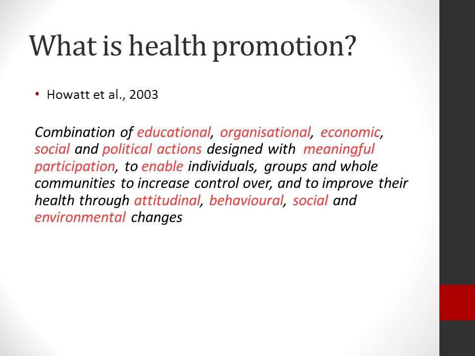 Theories used in Health Promotion Maslow Health Believe Model Social Cognitive Theory Diffusion of Innovation Theory