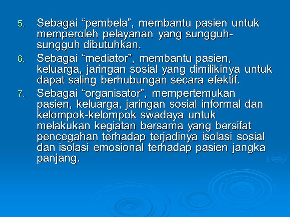 C.Protap PekSos di Unit Rehabilitasi yang terdiri dari sub unit LKP, TKP, LKW, TKW.