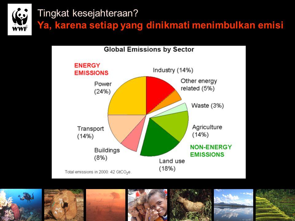 Source: Stern's Slide Tingkat kesejahteraan? Ya, karena setiap yang dinikmati menimbulkan emisi