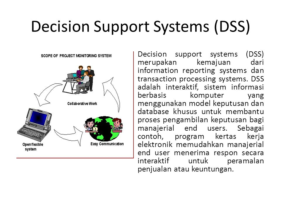 Executive Information Systems Executive information systems (EIS) adalah tipe SIM yang sesuai untuk kebutuhan informasi strategis bagi manajemen atas.