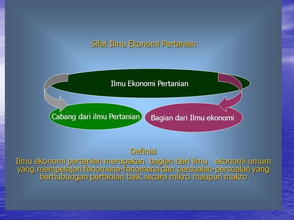 Ekonomi Pertanian di Indonesia Ciri-Ciri Umum Tropika Bentuk sebagai kepulauan Topografi yang bergunung