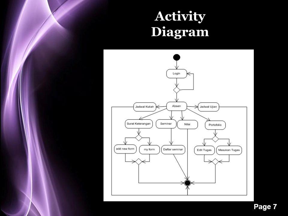 Page 7 Activity Diagram