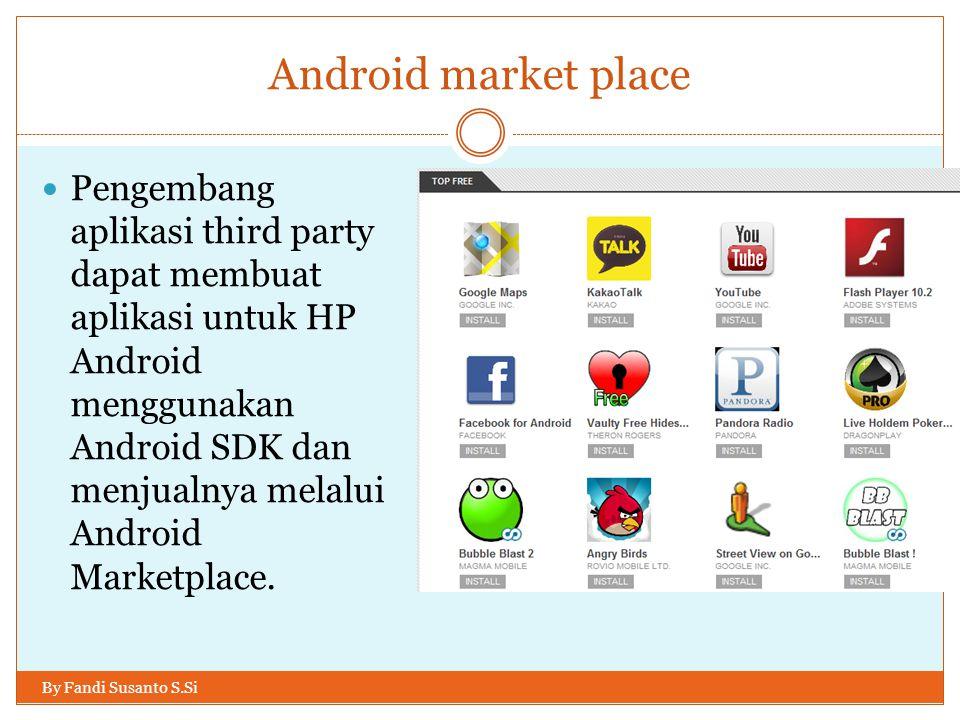 Symbian sekarang By Fandi Susanto S.Si November 2010, karena kurangnya dukungan dana, Symbian Foundation mengumumkan akan beralih menjadi organisasi pelisensi.