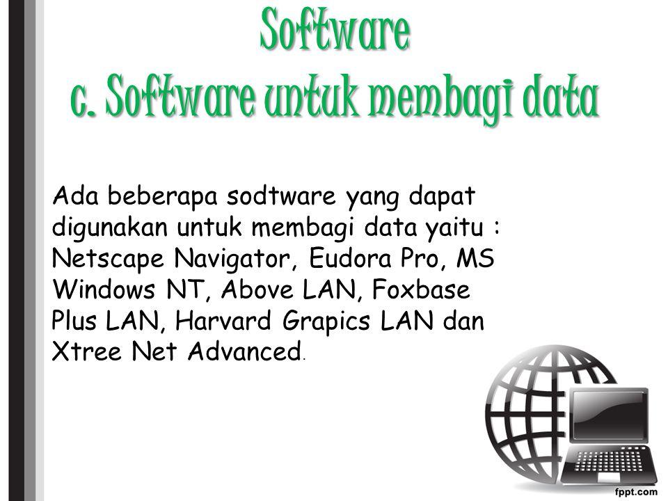 Software c.