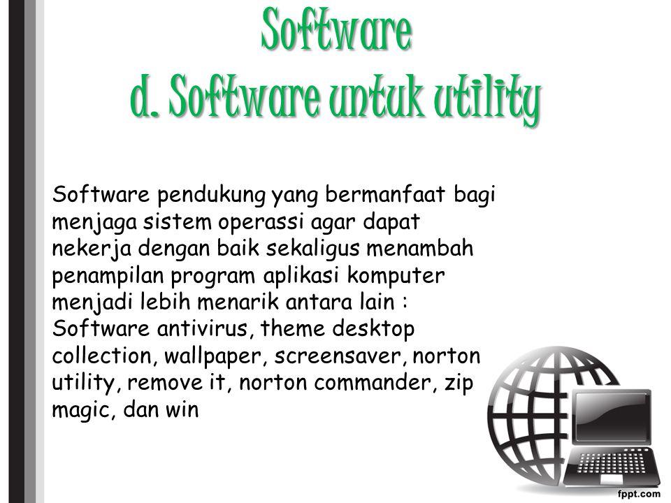Software d.