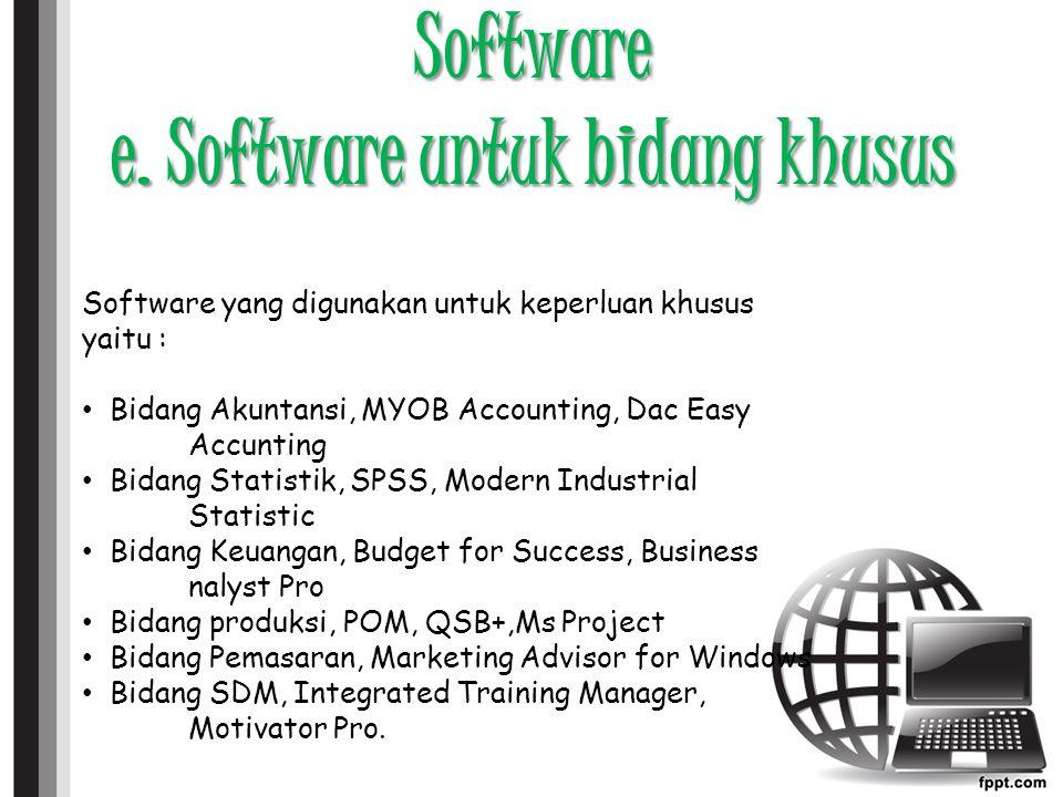 Software e.