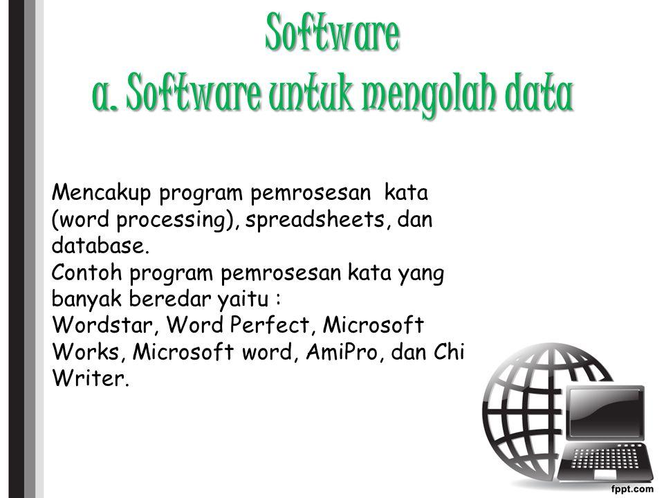 Software b.