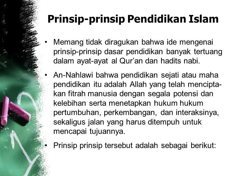 Dengan demikian pendidikan Islam adalah suatu proses pembentukan individu berdasarkan ajaran-ajaran Islam yang diwahyukan Allah SWT Kepada Muhammad SA