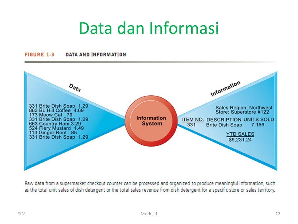 Data dan Informasi SIMModul-112