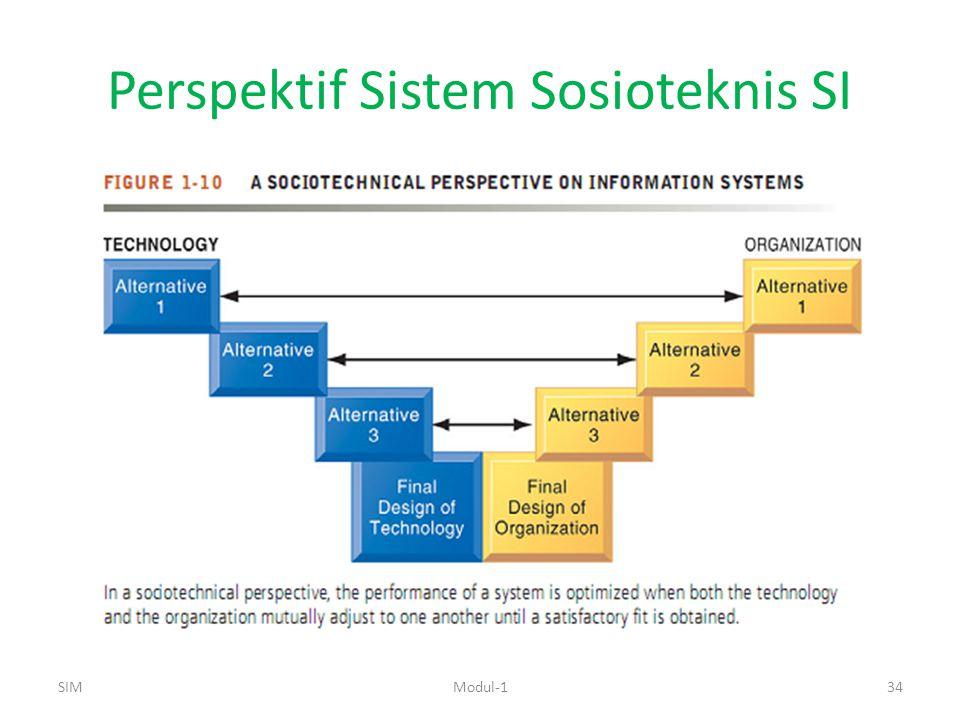 Perspektif Sistem Sosioteknis SI SIMModul-134