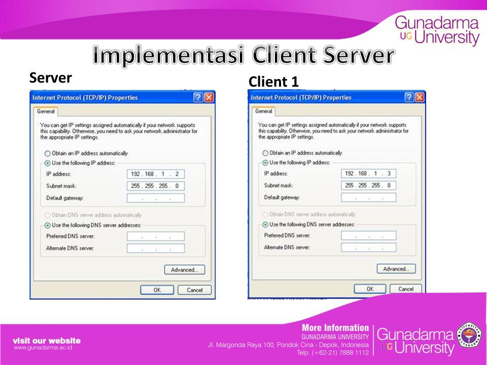 Server Client 1