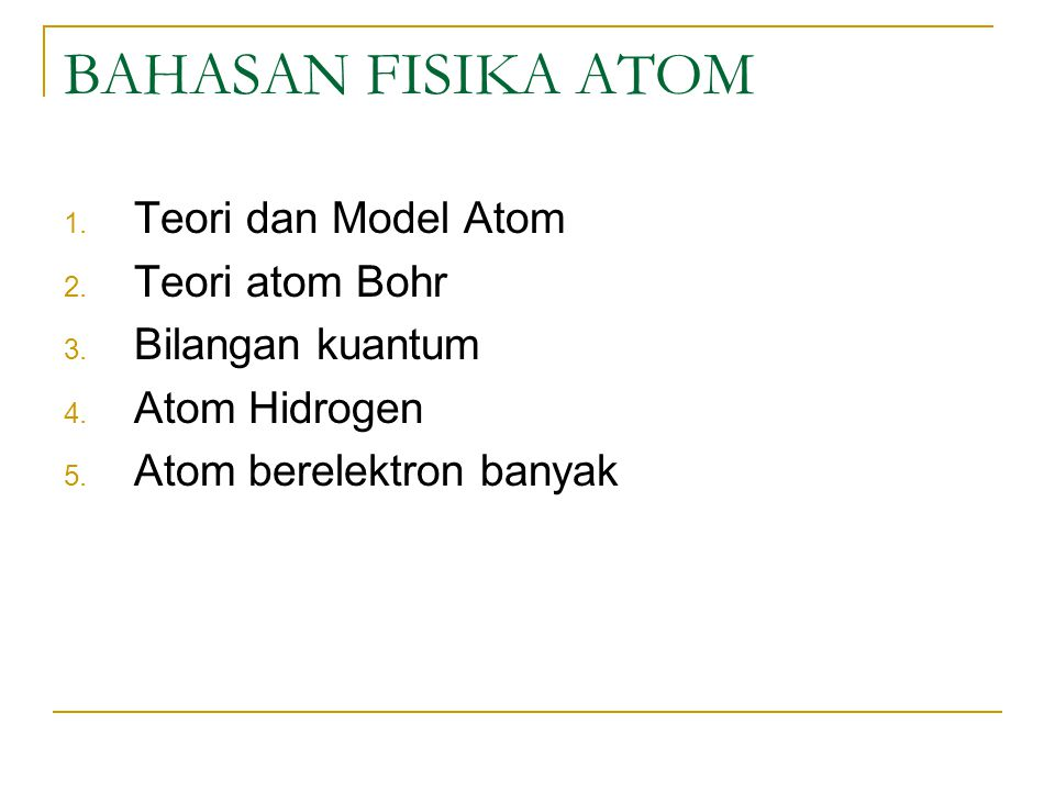 Model atom Thomson Electrons Positively charged Plum-Pudding Model