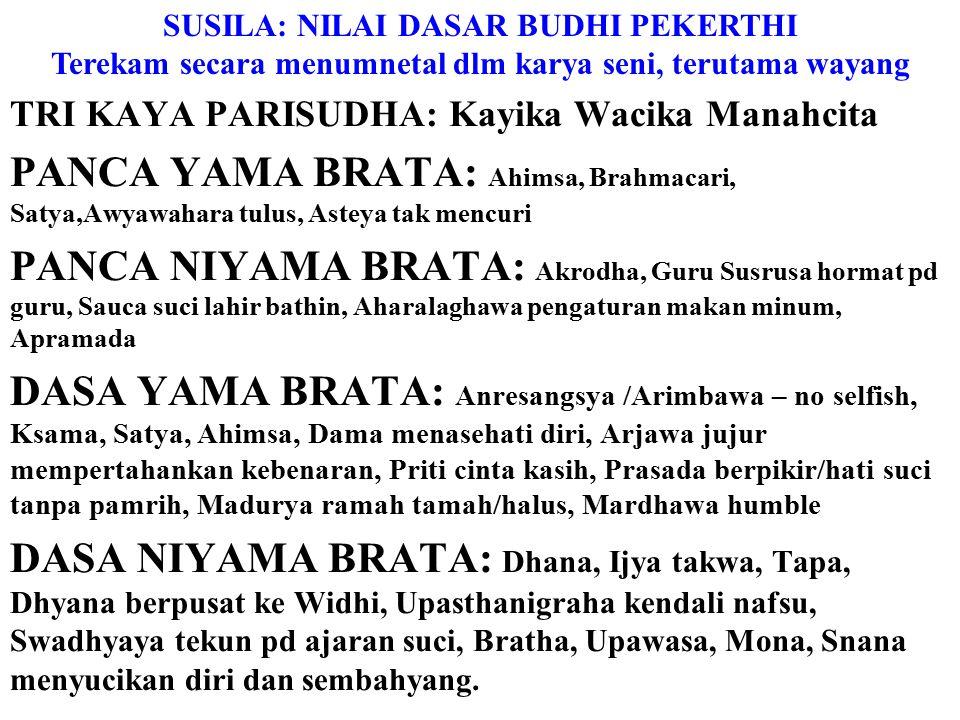 Yang paling relevan dlm ritual Desa Pakraman: L ontar Siwagama: Para Dewa menjadi seniman untuk menetralisir butha kala memasuki jiwa mahluk hidup yan