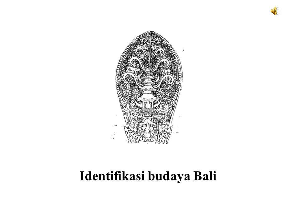 Identifikasi budaya Bali