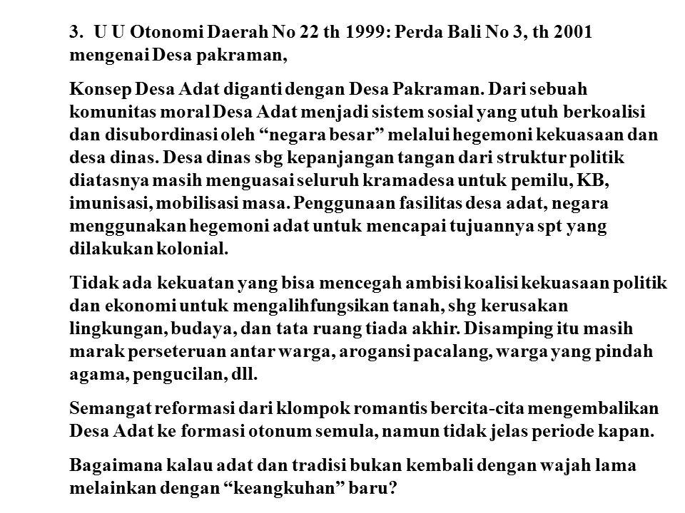 ANEKA PERSOALAN YANG ACAP DIKRITISI: Maraknya kegiatan upacara di Bali tidak dibarengi pemahaman Tatwa dan implemetasi Susila. Padahal upacara adalah