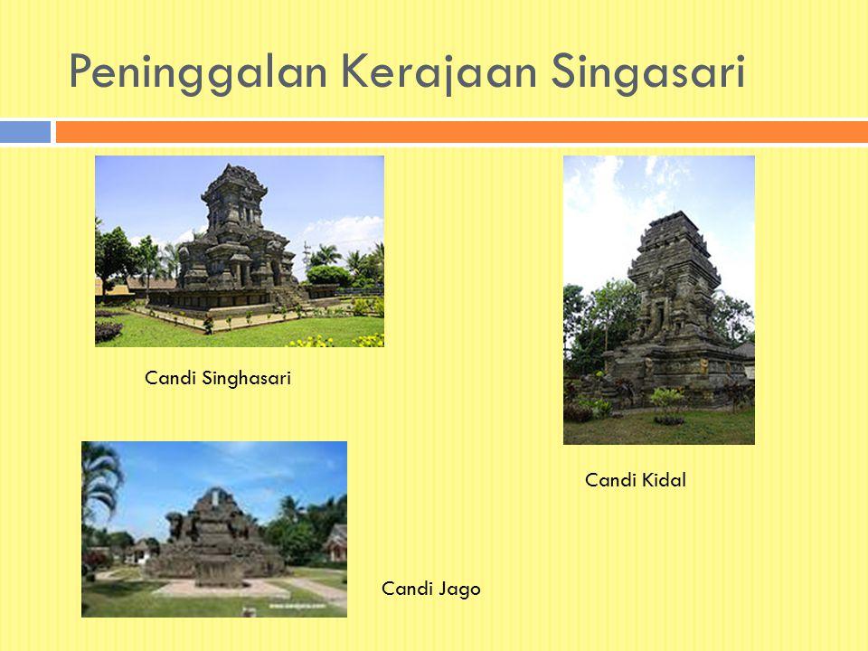 Peninggalan Kerajaan Singasari Candi Singhasari Candi Kidal Candi Jago