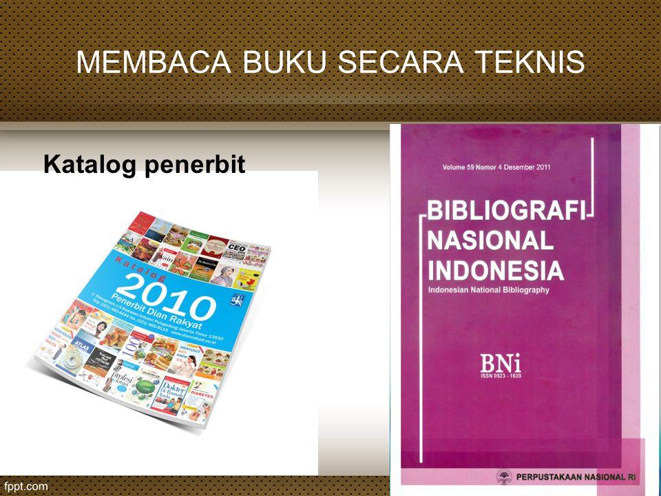 Katalog penerbit
