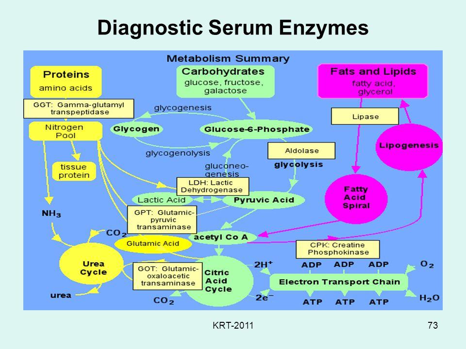 KRT-201173 Diagnostic Serum Enzymes
