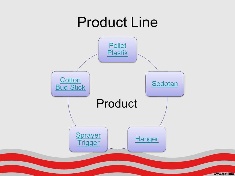 Product Line Pellet Plastik SedotanHanger Sprayer Trigger Cotton Bud Stick Product