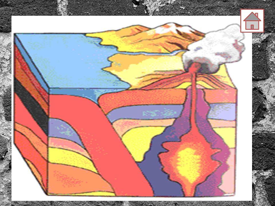 Tipe-tipe Metamorfisme 1.Contact Metamorphism: Metamorfisme sebagai akibat dari adanya suhu yang sangat tinggi (sebagai akibat dari aktivitas magma) Adanya suhu yang sangat tinggi menyebabkan terjadinya perubahan bentuk maupun warna batuan.