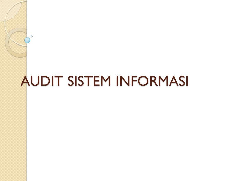 BAB III (Konsep Sistem & Audit) Hubungan sistem dengan auditing : merupakan keyakinan auditor terhadap keterandalan sistem dan internal kontrol dalam memberikan opini/ rekomendasi terhadap pemakai laporannya.