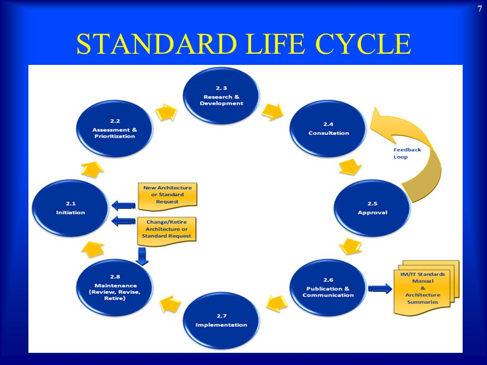 STANDARD LIFE CYCLE 7