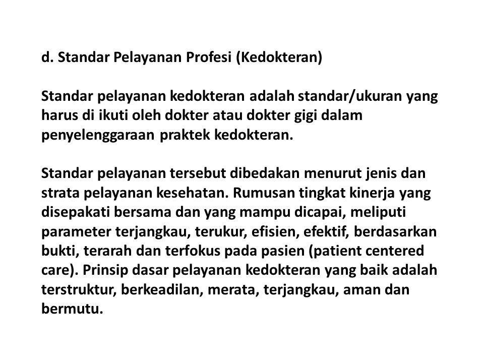 PERAN ORGANISASI PROFESI (Ketentuan Umum UUPK: Organisasi Profesi Dokter adalah IDI) PEMBINAAN ETIK BERSAMA KONSIL KEDOKTERAN INDONESIA (KKI) MELAPORKAN DOKTER YANG MELANGGAR ETIKA KE KKI (UNTUK DICATAT OLEH KKI) MEMBERIKAN MASUKAN (KOORDINASI) DALAM PENYUSUNAN STANDAR PENDIDIKAN DOKTER/DOKTER SPESIALIS MENYELENGGARAKAN PENDIDIKAN KEDOKTERAN BERKELANJUTAN (PKB/CPD) DAN MENGAKREDITASI LEMBAGA PENYELENGGARA PKB MENERBITKAN STANDAR PKB MENERBITKAN REKOMENDASI IZIN PRAKTIK PEMBINAAN DAN PENGAWASAN TERSELENGGARANYA KENDALI MUTU DAN KENDALI BIAYA DOKTER YANG BERPRAKTIK MEMBUAT STANDAR PROFESI MENERIMA TERUSAN PENGADUAN DARI MKDKI YANG MENYANGKUT SOAL PELANGGARAN ETIKA UUPK (Undang-Undang Praktik Kedokteran)