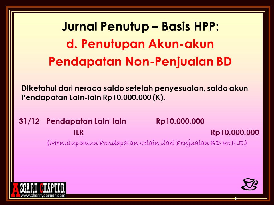 Jurnal Penutup – Basis HPP: d.