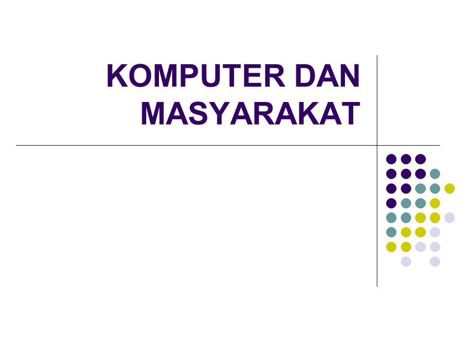 Bidang Industri  CAM – Computer Aided Manufacturing untuk meningkatkan produktivitas  CAD – Computer Aided Design untuk merancang produk industri misal : mobil, dll  Penggunaan robot yang dikendalikan oleh komputer dari jarak jauh.