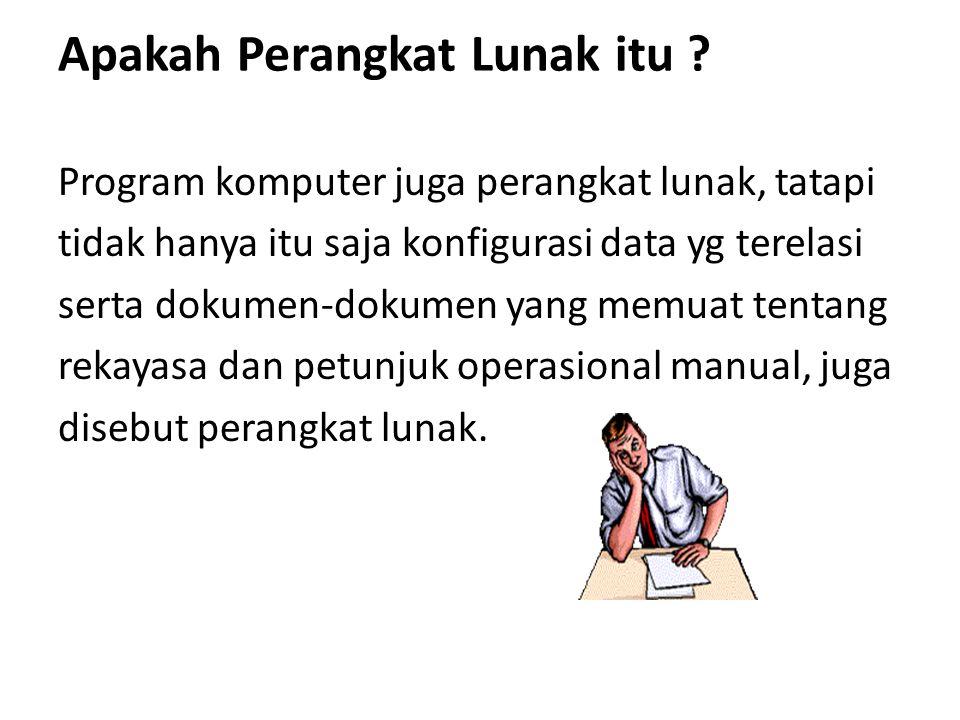 Perangkat Lunak Berdasarkan Fungsionalnya 1.